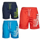 Henleys Kids Eklund Designer Swim Shorts Childrens Summer Surf Swimming Trunks