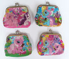 MY LITTLE PONY Girls Childrens Coin Purse 4 designs party bag filler Lot NEW