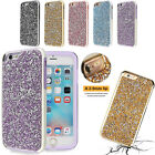 Plating Sparkle Glitter TPU Slim Case Protective Cover Back For iPhone 8 7 Plus