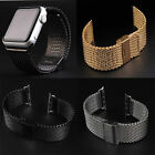 Replacement Milanese Stainless Steel Watch Band Strap Adapter For Apple Watch