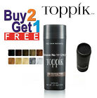 TOPPIK Hair building FIBERS 27.5g (Large) BUY 2 & GET 1 FREE **SALE** 10 COLORS