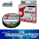 Daiwa J Braid 150m Chartreuse Tackle World