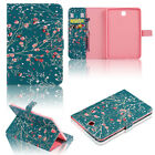 Shockproof Thin Leather Wallet Smart Case For Samsung Galaxy Tab S2 8.0 9.7