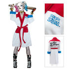 Suicide Squad Ladies Harley Quinn Daddy's Lil Monster Hoodless Bath Robe Gown