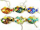Cloisonne Copper Enamel Tropical Sea Fish Statue Figurine Pendant Home Ornament