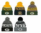 Green Bay Packers Cuffed Beanie Knit Winter Cap Hat NFL Authentic $17.99 USD on eBay