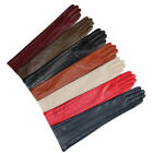 """47cm(18.5"""")long lines style evening elbow leather gloves (11 colors)"""