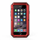 Shockproof Aluminum Metal Case Cover For iPhone 6 7 Samsung Galaxy S7 S8 Phone