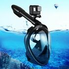 PULUZ Water Sports Diving Equipment Full Dry Snorkel Mask for GoPro HERO5 4 3 2
