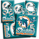 MIAMI DOLPHINS NFL SUPER BOWL CHAMPIONS FOOTBALL LIGHT SWITCH OUTLET WALL PLATE $11.99 USD on eBay