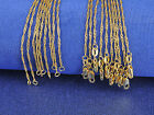 """Wholesale 1PCS Making Jewelry 18K Gold Filled """"Water Wave"""" Chains Necklaces GF"""