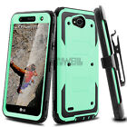 For LG Fiesta LTE /X Charge/X Power 2 /3 Case Shockproof Hybrid Hard Stand Cover