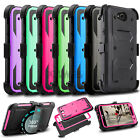 For LG Fiesta LTE/X Charge/X Power 2/LV7 Shockproof Hard Armor Solid Phone Case