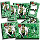 BOSTON CELTICS BLEED GREEN BASKETBALL TEAM LIGHT SWITCH OUTLET WALL PLATE COVER on eBay