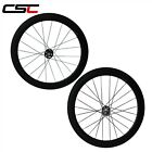 China factory 700C Carbon fixed gear Bicycle Wheel 60mm Tubular Track Wheelset