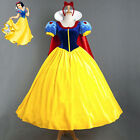 New Snow White Fancy Dress Fairy Tale Princess Queen Halloween Cartoon Costume