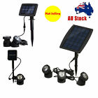 Waterproof Solar Power Lights Outdoor Lamp Garden Landscape Yard Lawn Spot Light