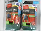 Hanes Men's Tagless Boxer Briefs 8-PACK SIZE 2XL 3XL Assorted Colors Underwear
