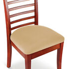 Easy Fit Seat Covers for Chairs, Bar Stools, Patio Cushions - 2 PC Set