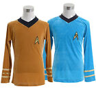 Star Trek TOS The Original Series Kirk Spock Shirt Uniform Halloween Costume on eBay
