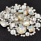 Mixed style flatback glitter nail art decorations rhinestone jewelry accessoires