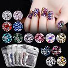 Mixed stlye beauty glitter 3d nail art decorations rhinestone gem accessoires