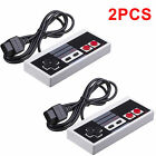 1X 2X CLASSIC CONTROLLERS FOR NINTENDO NES 8 BIT SYSTEM CONSOLE CONTROL GAMEPAD