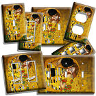 light painting video - GUSTAV KLIMT THE KISS GOLD PAINTING LIGHT SWITCH PLATE OUTLET WALL ART NEW COVER