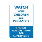Watch Your Children For Pool Safety Activity Sign Aluminum METAL Sign $38.99 USD on eBay