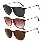 Unisex Stylish UV400 Round Holiday Beach Festival Sunglasses Accessory