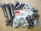 HEX HEAD SETSCREWS INC NYLOC NUTS & WASHERS STAINLESS STEEL M4 M5 M6 M8 M10 BOLT
