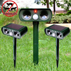 CAMTOA Solar Power Ultrasonic Pest Animal Repeller Garden Cat Dog Scarer Control