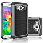 For Samsung Galaxy Grand Prime + Shockproof Hybrid Rugged Rubber Hard Case Cover