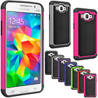 For Samsung Galaxy Grand Prime Shockproof Hybrid Rugged Rubber Hard Case Cover