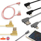 Right Angle 90 Degree Lightning Charger USB Rose Gold Cable for iPhone 7 7Plus 6