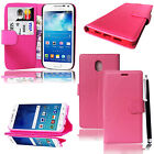 Wallet Pouch Leather Book Flip Card Case Cover For Nokia 3 Mobile Phone + stylus