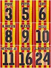 Barcelona 2013-14 Name Set number Sipesa Away Player Issue Messi