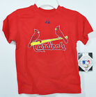 MLB St Louise Cardinals Holiday 15 Red T-Shirt Kids Authentic Licensed Nwt