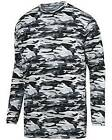 Augusta Sportswear 1807 NEW Exercise Shirt Mod Camo L/S Wicking Pick Color/Size
