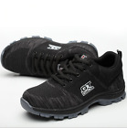 Mens Safety Shoes Summer Breathable Steel Toe Work Boots Hiking Climbing-A23
