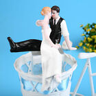 Resin Bride&Groom Cake Topper Wedding Party Decoration Figurine Craft Gift