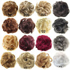 Sexy 25Colors Curly Synthetic Hair Buns Chignons Hairstyles Rubber Band In