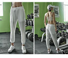 Women Thin Sports Trousers Casual Loose Quick-drying Fitness 9th Pants Yoga Run