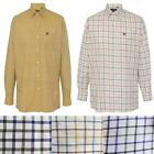 Alan Paine Ilkley Mens Check Chequered Gents Shooting Hunting Shirt Size S-XXL
