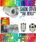 AUTHENTIC SMOK TFV8 COILS V8-Q4  COILS 0.15Ω SCRATCH CODE FAST DISPATCH 1,2,or 3