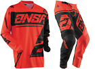 NEW 2018 ANSWER RACING SYNCRON RED BLACK YOUTH RACE GEAR COMBO JERSEY PANTS MX