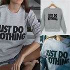 Fashion Women's Casual Long Sleeve Hoodie Jumper Pullover Sweatshirt Tops Shirt