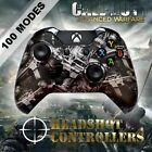 Xbox One/S/X Modded Controller 3.5mm Jack Hydro-Dipped - Spent Ammo Options