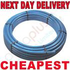 Blue water main MDPE Alkathene pipe 20mm 25mm 32mm x 25mtr 50mtr 100 meter rolls