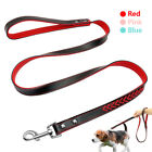 Soft Padded Braided Leather Pet Dog Leads Leash for Small Medium Dogs Walking